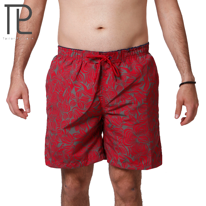 Tailor Pal Love Hot Selling Printing Summer Board Shorts Men Casual Quick Dry Mens Beach Shorts