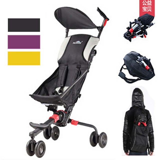 High Quality fold in backpack Baby Travel Stroller,Small Lightweight Fold Pram In Plane Box Bag To Travel