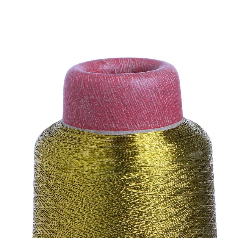1PC tout usage Machine à coudre Cône Threads Polyester Surjetage Golden Silver