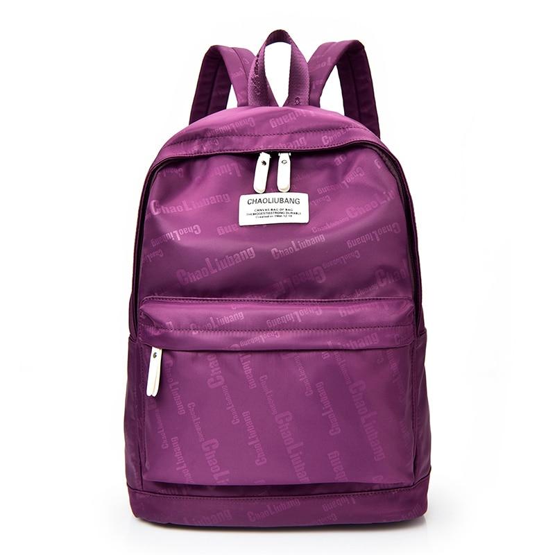 2017 Women Backpack Waterproof Nylon Student School Bags Girl Backpacks Female Casual Travel Bag Ladies Mochila Feminina F96 elizabeth and james заколка для волос sueno
