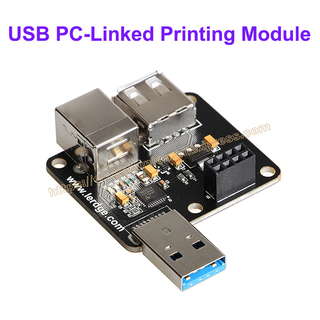 3d printer part usb pc linked printing module online print for