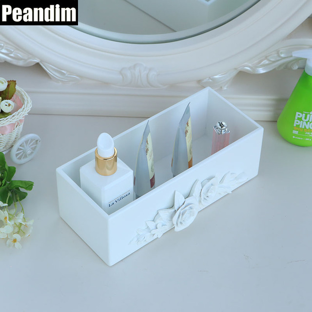 PEANDIM Multi Function Jewelry Box Cosmetic Facial Cleanser Makeup