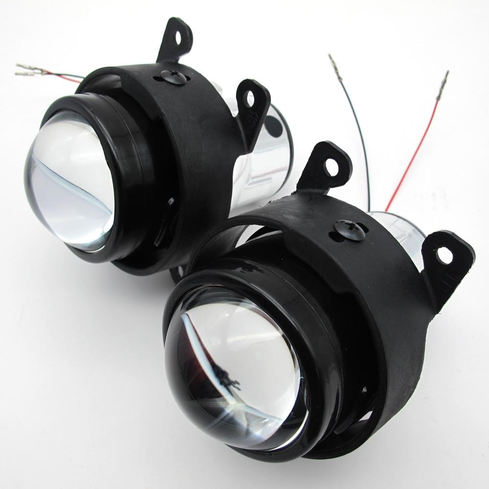 Taochis 2x автомобиль 2.5 дюймов би ксенон объектив проектора комплект Н11 прозрачный противотуманные фары для Пежо 206 207 307 308 4007 4008 противотуманная фара
