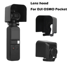 Lens hood for OSMO Pocket Accessories Camera Lens Sunhood Protective Case Antiglare Sunshade Gimbal Cover for DJI OSMO Pocket цена