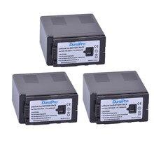 DuraPro – 3 batteries VW VBG6, 7.2V, 6000ah, VW-VBG6, pour Panasonic AG-HMC71MC, AG-HMC43MC, AG-HMC155, AG-HMC83MC, AG-HMC-150CM, AG-HMC70U