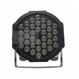Image 2 - משלוח מהיר LED 36x3W RGBW LED שטוח Par RGBW צבע ערבוב DJ לשטוף אור שלב Uplighting KTV דיסקו DJ DMX512 דקורטיבי מנורה