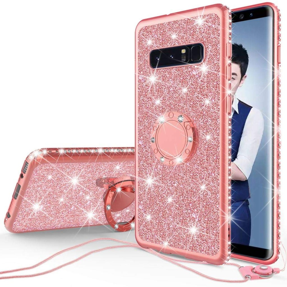 Diamond Case for Samsung Galaxy S10 Plus S10E S7 Edge S8 S9 Note 9 8 Cover For Samsung A6 A8 Plus A7 J7 2018 Glitter Bumper Case (7)