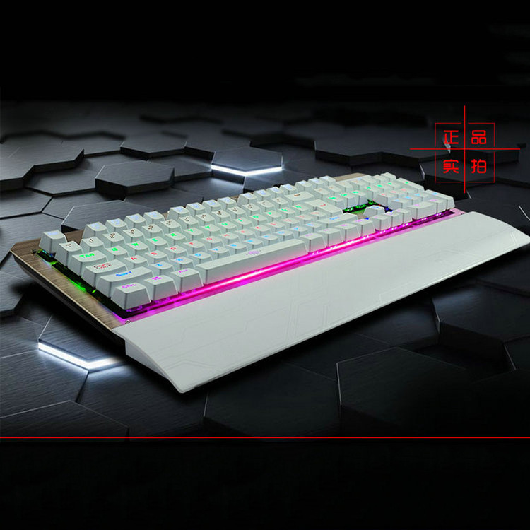 Real Mechanical Cool Gaming Computer Keyboard Rainbow Led Backlight Flash Keys Keyboard For LOL WOW Internet Bar Wholesale pujari v c s m r customer relationship management in service sector