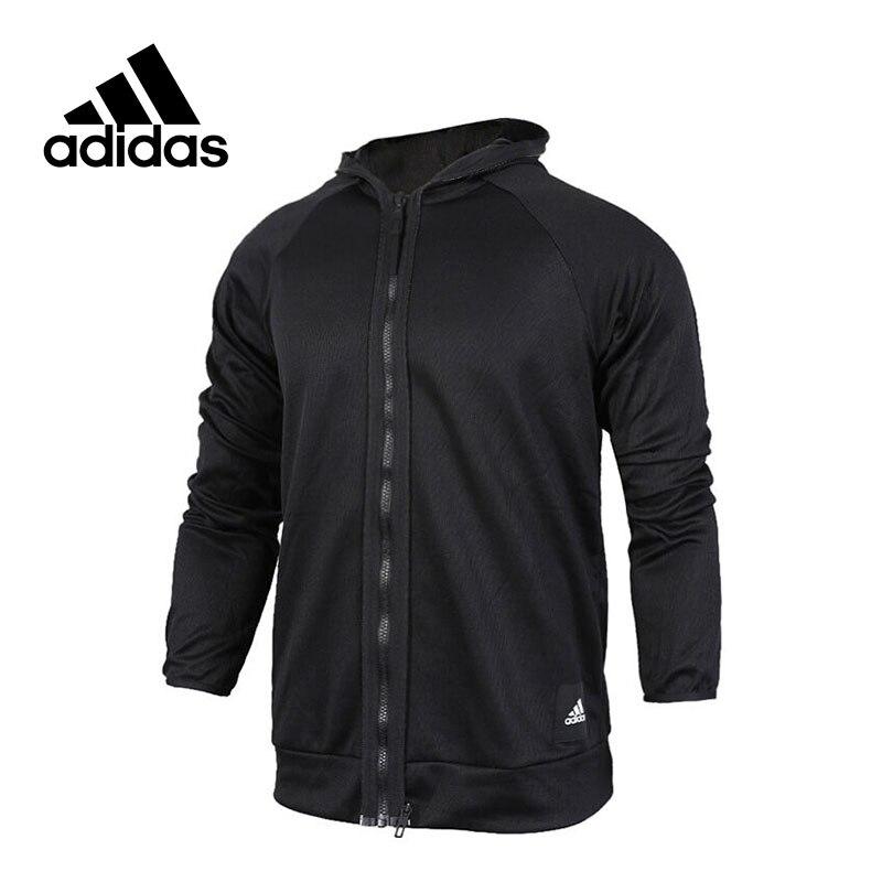 все цены на Original New Arrival Official Adidas JKT KN ID 2-1-1 Men's Reversible Jacket Hooded Sportswear BQ4680