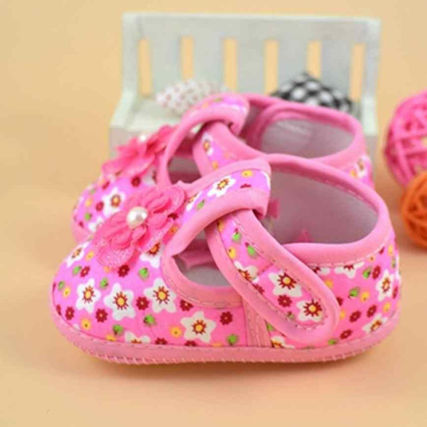 Arloneetベビーシューズガールボーイソフトちょうcololrful花ブーツ高品質の子供布ベビーシューズ 2018