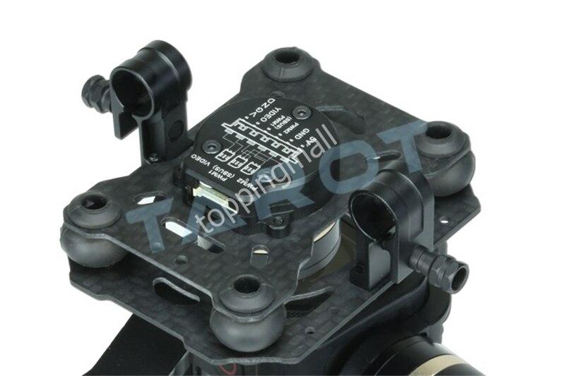 Tarot TL3T02 GOPRO T-3D IV 3 axes HERO4 SESSION caméra sans balai cardan PTZ pour FPV quadrirotor Drone Multicopter 50% de réduction - 4