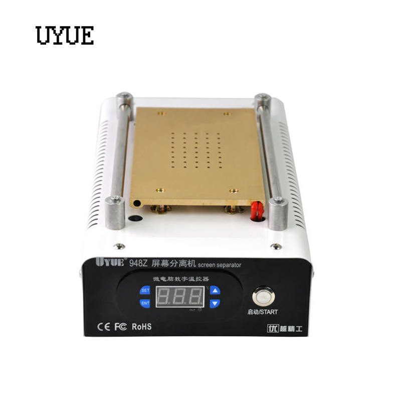NEW Arrive Mobile phone Built-in Pump Vacuum Metal Body Glass LCD Screen Separator Machine with LED Display for Max 8 inch LCD free shipping new mobile phone lcd display for lenovo a500 mobile phone with tracking number