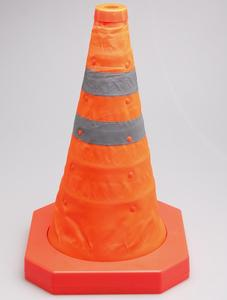 Image 2 - MYSBIKER Collapsible Traffic Cone 15,5 Inches, Multi Purpose Pop up Reflective Safety Cone