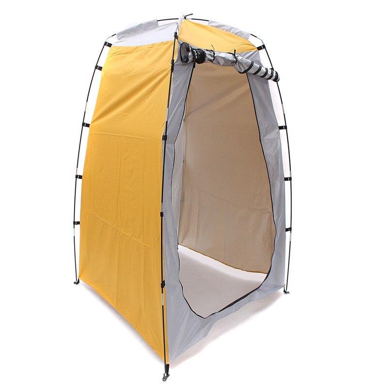 Новое поступление Кемпинг Душ Туалет палатка открытый Портативный изменить номер Shelter Водонепроницаемый ткань открытый палатка