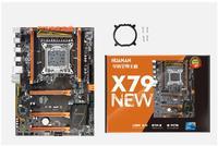 HUANAN Golden X79 motherboard ver1.3 LGA 2011 ATX USB3.0 SATA3 PCI E NVME support 4*16G REG ECC memory and Xeon E5 processor