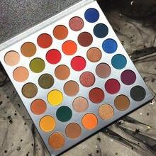 дешево!  Профессиональный 36 цветов теней для век длительный макияж косметика палитра теней для век водонепро