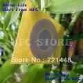 100 unids/lote venta al por mayor NFC etiquetas inteligentes para todos NFC móvil TOPAZ512 NFC Forum tipo 1 Tag NFC Tag