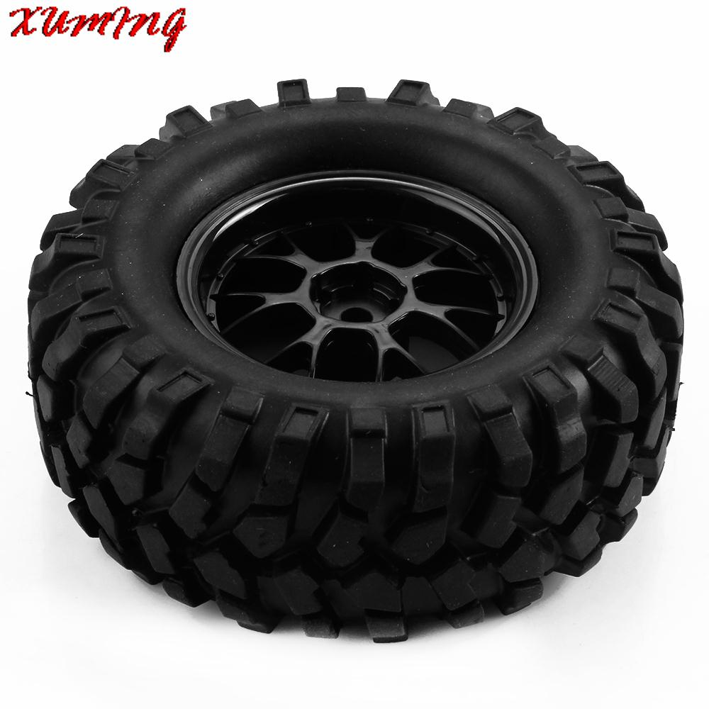 96mm 1 9 inch off road buggy climbing tires tyre and wheels 1/10 rc crawler  car