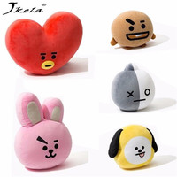 Jkela Kpop Home Bangtan Boys BTS Vapp Pillow Warm Bolster Q Back Cushion Plush Doll