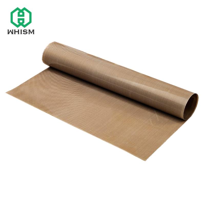 WHISM 30 * 40 cm 60 * 40 cm Esteras para hornear Resistencia al calor Lona de teflón Antiadherente Horno de microondas Hoja de cocina para hornear