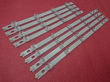 Striscia di retroilluminazione a LED 8 pezzi per LG 39LN5700 39LN5757 39LA616V 39LA621V 39LA620S 39LN5400 39LN5300 39LN5100 39LN540V 39LN570V