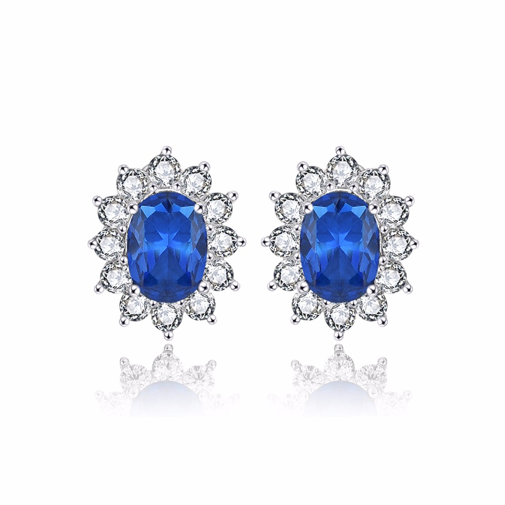 luxury wedding earrings for brides with crystal NE89300L (12)