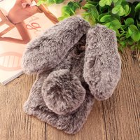 For Xiaomi Redmi Note 4X 32GB Case 4 X Cute 3D Rabbit Doll Plush Cover Hairy