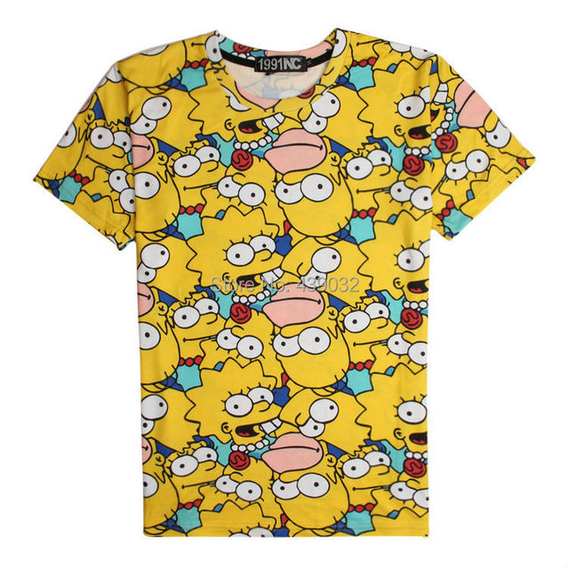 The Simpsons CAMISETAS Y TOPS - Camisetas m14kk