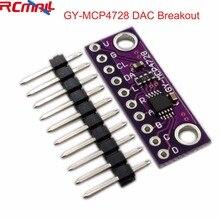 MCP4728 12 бит 12 бит IEC цифро-аналоговый преобразователь DAC Breakout модуль датчика GY-MCP4728 низкое энергопотребление FZ3481