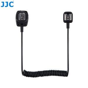 Image 3 - JJC 1,3 M TTL Off DSLR шнур для вспышки камеры Горячий башмак Синхронизация удаленный кабель фокусировки света кабель для Canon 600EX II RT/600EX RT/430EX