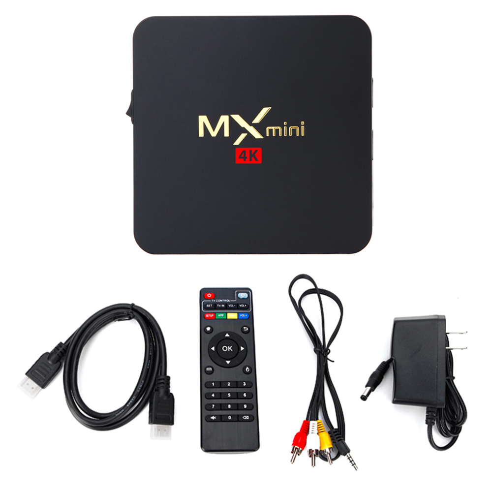 Amlogic S905 Quad Core Android 5.1 1GB RAM+8GB ROM Android TV Box for Media Bluetooth MXmini H.265 Full HD 4K x 2K free ship rhf5 vida 8972402101 8971856452 turbo turbocharger for isuzu d max rodeo pickup 2004 4ja1 l 4ja1l 4ja1 2 5l td 136hp