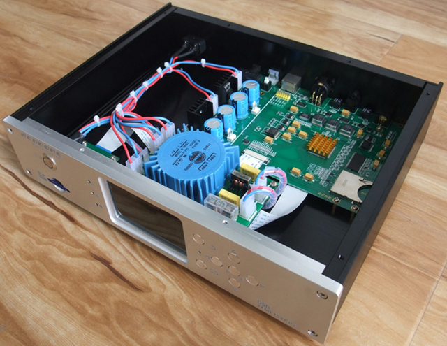 R-040 REDCORE DSD Master Tape Digital Turntable Player with Decoder APE/FLAC/WAV/DSD256/32bit/384K FPGA Digital Extraction Tech