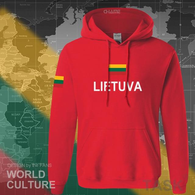 Lithuania Lithuanian hoodies men sweatshirt sweat new nation 2017 streetwear clothing sporting tracksuit LTU Lietuva Lietuvos 3