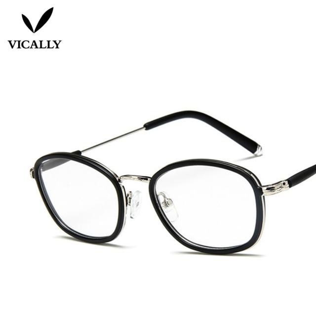 ac85db479 أزياء النظارات إطارات النظارات أحدث المعتاد المعادن خمر قصر النظر تأطير  النساء الرجال وهمية عادي نظارات
