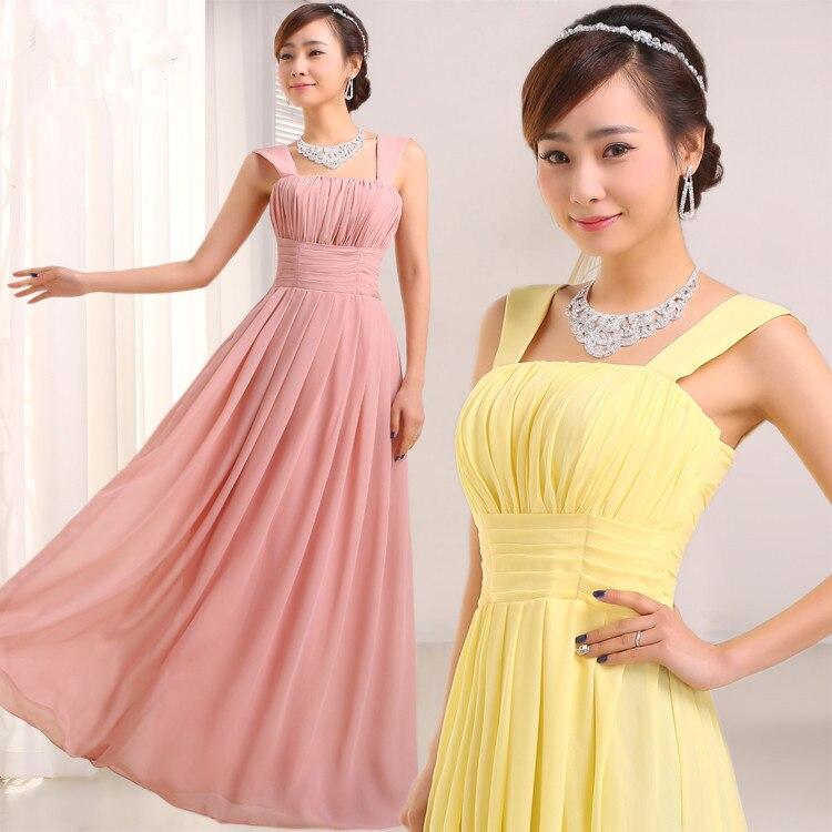 Barato Pink dama de honor vestidos tallas grandes con mangas peltre ...