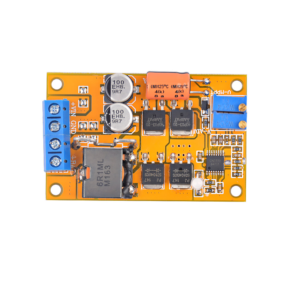 Aiyima Mppt Solar Panel Regulator Controller Battery Charging 9v 12v Uses A Shunt To Prevent Overcharging Circuit 24v Auto Switch 5a In Controllers From Home Improvement On