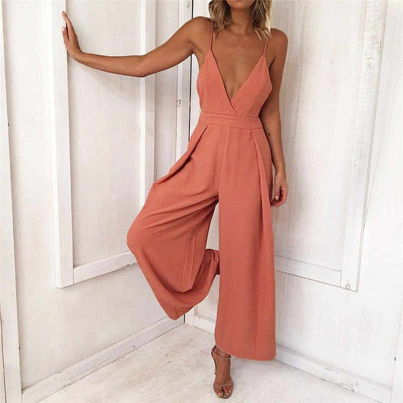 HOT Selling  Fashion  High Quality Women Causal V Neck Back Bow Jumpsuit Clubwear Bodycon Playsuit Romper  Charming Slim #30