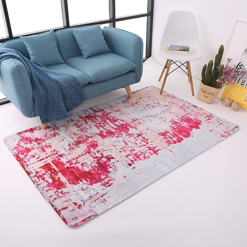 Abstract Colorful Carpets For Living Room Home Decor Bedroom Carpet ...