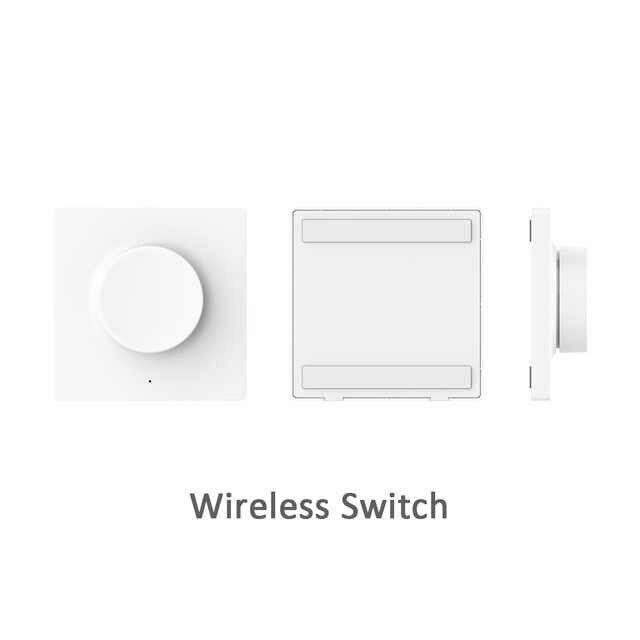 Xiaomi Mijia Yeelight חכם דימר מתג אינטליגנטי התאמת קיר אלחוטי מתג עבור yeelight תקרת אור LED נברשת