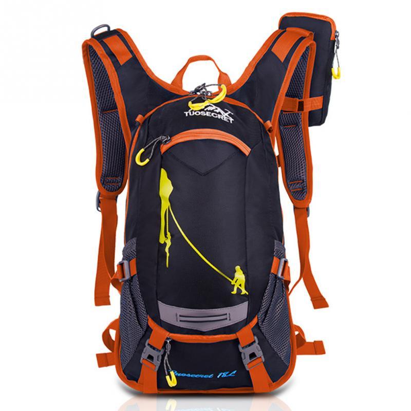 New Men's Travel Bags Backpacks School Bags 18L Backpack Man Backpack Nylon Waterproof Shoulder Bag Packsack Bag Male Backpacks