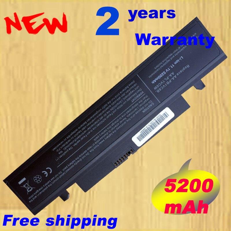 HSW 5200mAh Battery For SAMSUNG X318 X320 X418 X420 X520 Q328 Q330 N210 N218 N220 NB30 Plus AA-PB1VC6B AA-PL1VC6B Notebook Batte
