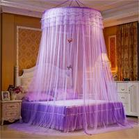 New Design Hung Dome Mosquito Net Princess Insect Bed Canopy Netting Lace Round Mosquito Nets With