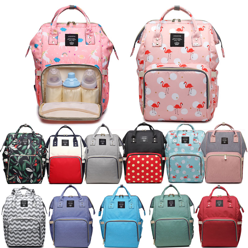 141882fa40bd ADLONGYI Diaper Bag Multi-Function Waterproof Travel Backpack Nappy Bags  for Baby Care, Large Capacity, Stylish and Durable