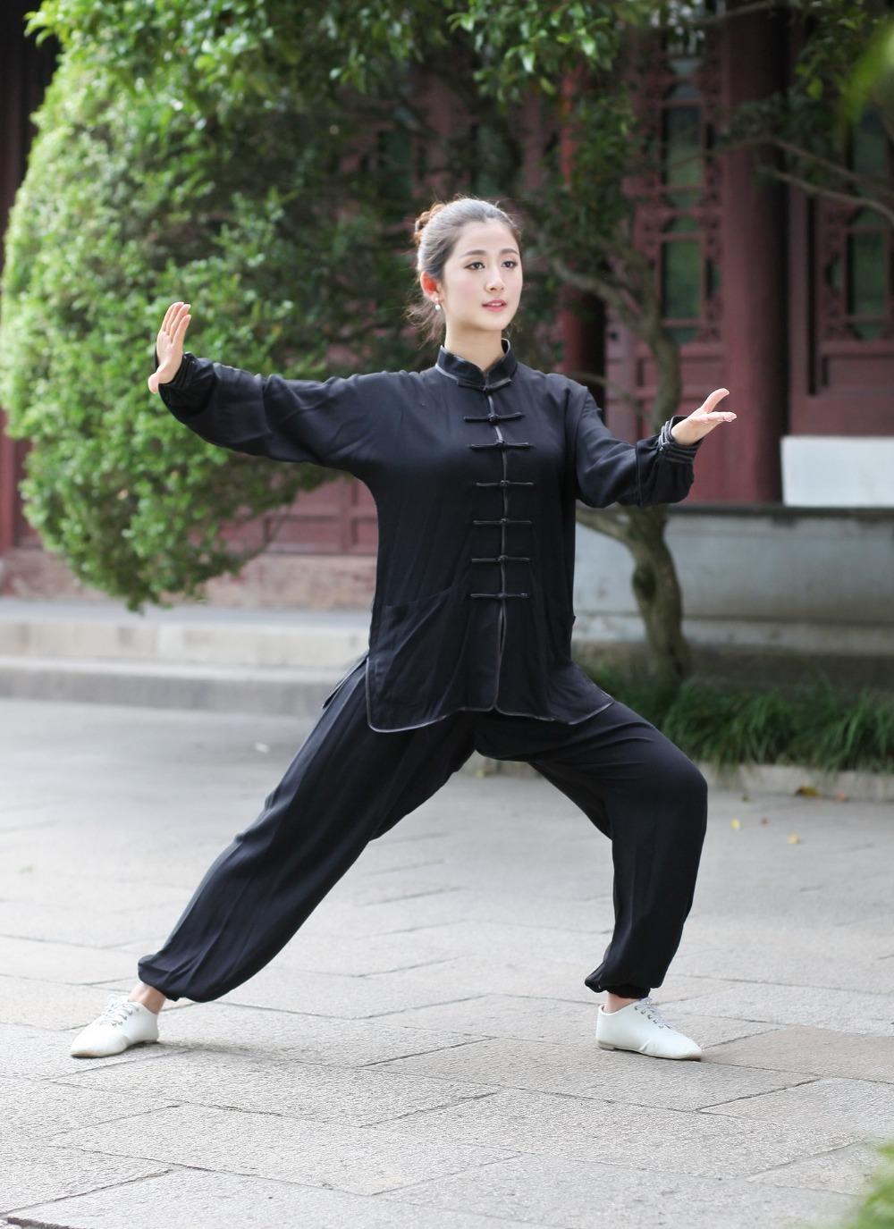 Cotton Women Chi Shanghai Uniform white Clothing black Taiji Red blue 100 Art Story Fu Suit Sale Wushu Chinese New Kung beige Tai F0rzxq70w