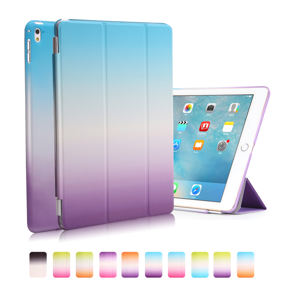 Case For Ipad Mini 4 Yrskv Separate Pu Leather Slim Magnetic Front Smart Cover Skin Hard Pc Back Case For Apple Ipad Computer & Office Tablet Accessories