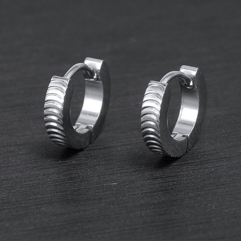 Different Pattern 316L Stainless Steel Small Studs Earring For Children Gifts