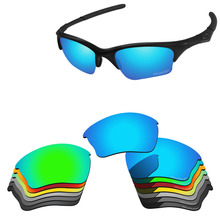 Papaviva Polycarbonate Polarized Replacement Lenses For Half Jacket XLJ Sunglasses - Multiple Options