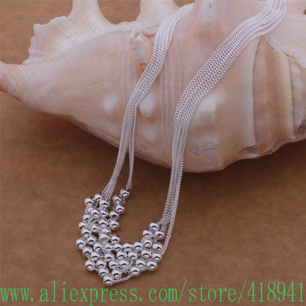 925 sterling silber Halskette, 925 silber modeschmuck Mehr perlen ...
