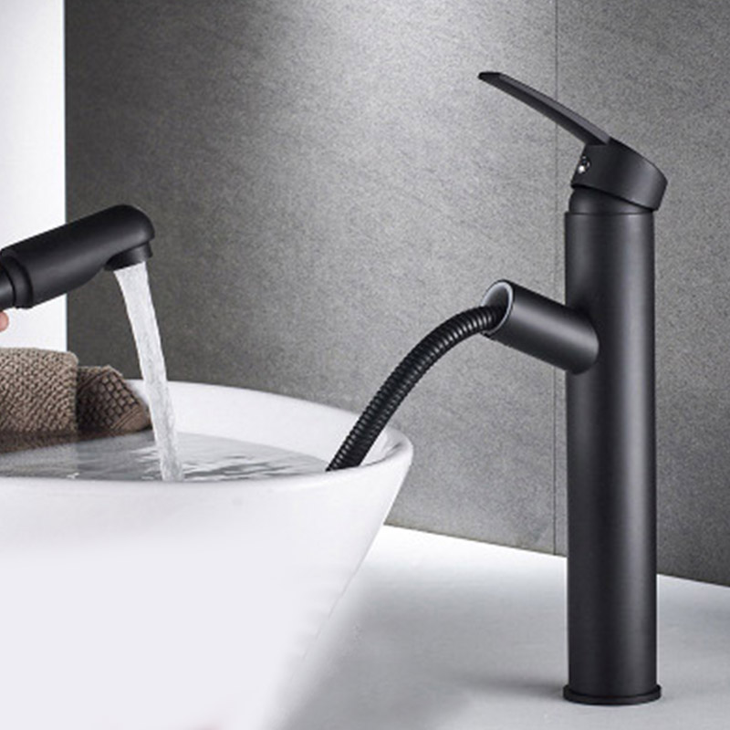 Kitchen Faucet Pull Down Luxury Brass Mixer Sink Faucet