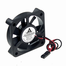 5pcs/lot 50mm X 10mm 5V 0.14A Dupont 2Pin Small DC Brushless Cooling Fan